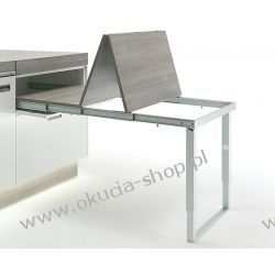 Okucie składane do stołów rozkładanych ze składaną nogą do szer. 862mm Häfele 642.19.925