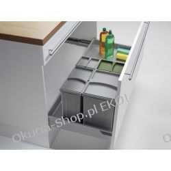 PULLBOY VARIO 600-1200/ wys. 297/ 2x17+2x8 wstawiany do szuflady 2x17+2x8L - PEKA 09.809.S