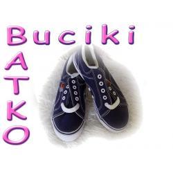 Buty tenisówki granatowe r.36 -50 % ceny 86B