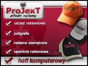 Strona firmy Studio Reklamy PROJEKT