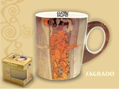 532-0002 Kubek Klimta - The Longing for Happiness