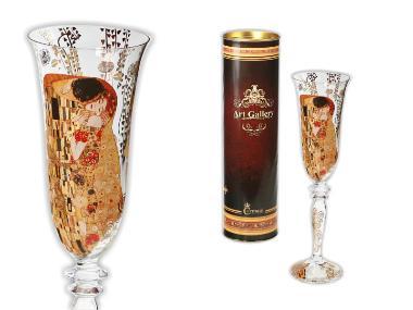 Kieliszek do szampana - Pocałunek