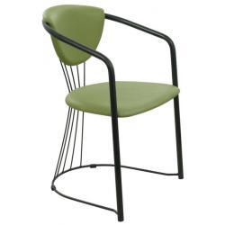 Krzesło MajerK-06 (SZAMPAŃSKA SATYNA)