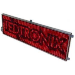 Wyświetlacz Tablica diodowa LED reklama 198x61 cm