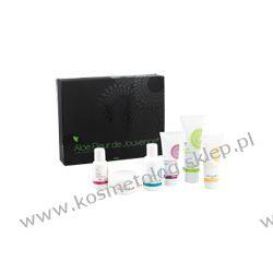 Aloe Fleur de Jouvence™ - zestaw pielęgnacyjny - 6 elementów + pędzelek i mieszadełko