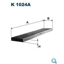 Filtr powietrza z węglem aktywnym FILTRON K 1024A do Ford Galaxy,Seat Alhambra,VW Sharan