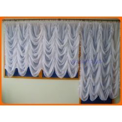 *49* Nowa firana typu woda - okno + balkon Firany gotowe