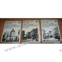Cmentarz Powązkowski. Zmarli i ich rodziny. 3 tomy: 1790-1850, 1851-1890, 1891-1918