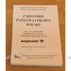 Z historii państwa i prawa Polski, zestaw pytań testowych wraz z rozwiązaniami Chemia nieorganiczna