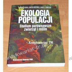 Ekologia populacji. Studium porównawcze zwierząt i roślin M. Begon, M. Mortimer, D. Thompson Chemia nieorganiczna