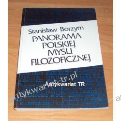Panorama polskiej myśli filozoficznej, Stanisław Borzym