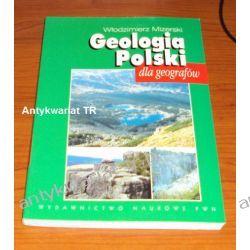 Geologia Polski dla geografów, Włodzimierz Mizerski,