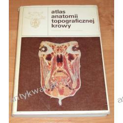 Atlas anatomii topograficznej krowy, M. Chomiak, Z. Milart. M. Łakomy, S. Hereć Chemia nieorganiczna