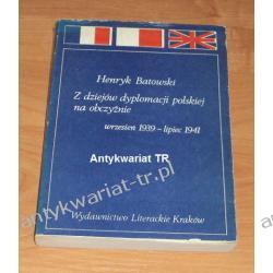 Z dziejów dyplomacji polskiej na obczyźnie (wrzesień 1939 - lipiec 1941), Henryk Batowski Chemia nieorganiczna