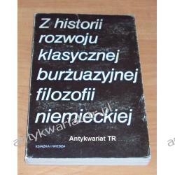 Z historii rozwoju klasycznej burżuazyjnej filozofii niemieckiej. Kant, Fichte, Schelling, Hegel, Feuerbach Chemia nieorganiczna