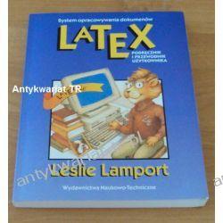 LATEX system opracowywania dokumentów, Podręcznik i przewodnik użytkownika, Leslie Lamport Chemia nieorganiczna