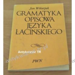 Gramatyka opisowa języka łacińskiego, Jan Wikarjak