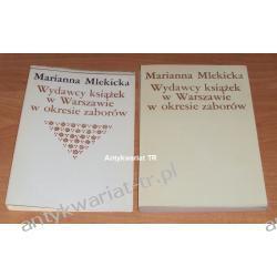 Wydawcy książek w Warszawie w okresie zaborów, Marianna Mlekicka