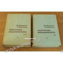 Psychologia eksperymentalna tom 1 i 2,  Robert S. Woodworth, Harold Schlosberg Chemia nieorganiczna