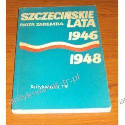 Szczecińskie lata 1946-1948, Piotr Zaremba Chemia nieorganiczna