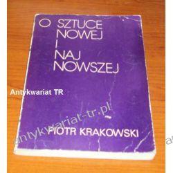 O sztuce nowej i najnowszej, Piotr Krakowski Chemia nieorganiczna