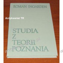 Studia z teorii poznania, Roman Ingarden