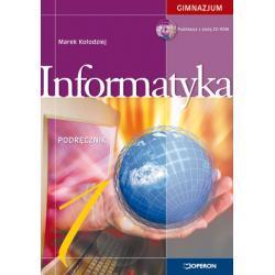 Informatyka 1. Podręcznik z płytą CD. Stara podstawa programowa