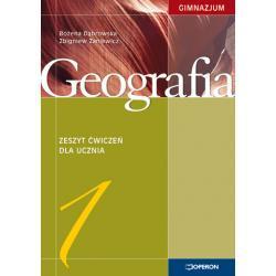 Geografia 1. Zeszyt ćwiczeń. Stara podstawa programowa