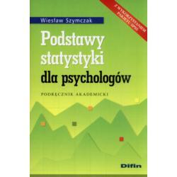 Podstawy statystyki dla psychologów Szymczak