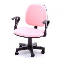 Mini fotel biurowy Różowy