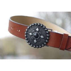 pasek ozdobny do jeansu - LEATHER BELT