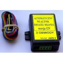 Automatyczny włącznik świateł AWS-2 - 3 obwody