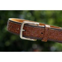 PASEK MĘSKI - LEATHER BELT 5305