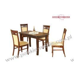 Stół i krzesła Zestaw AD103