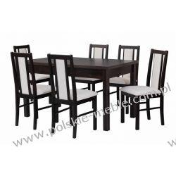 Stół MODENA 1 + krzesła BOSS 14 (6szt.) - zestaw DX59