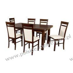 Stół WENUS 5 + krzesła MILANO 6 (6szt.) - zestaw DX75