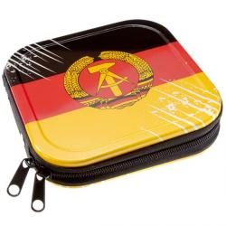 Etui ALUMINIUM 24szt CD / DVD ''Flaga DDR""