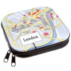 Etui ALUMINIUM 24szt CD / DVD ''London""