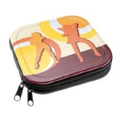 Etui ALUMINIUM 24szt CD / DVD ''Dancing Women""