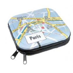 Etui ALUMINIUM 24szt CD / DVD ''Paris""