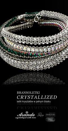 Bransoletki Crystallized