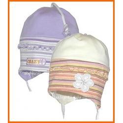 WIOSNA  bawełna  CZAPKA  czapki   KINGA -  46-50