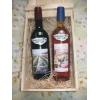 Skrzynka na wino zsw sosna2