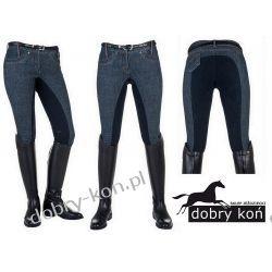 HKM Bryczesy jeansowe MARGA Jr.158,164