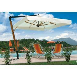 Parasol ogrodowy Palladio de Lux 350cm x 350cm made in Italy