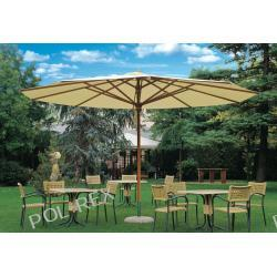 Parasol ogrodowy Palladio Teleskopic Delux 400 cm x 400 cm made in Italy