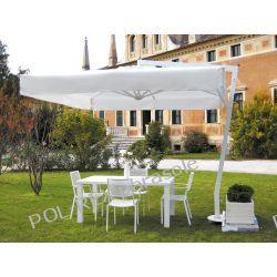 Parasol ogrodowy Afrodite Alu White 300cm x 400cm made in Italy