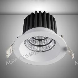 Tengo LED TS01112 9W 990LM 3000K S.WH