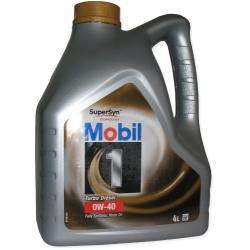 Olej silnikowy Mobil 0w40 4l turbo diesel