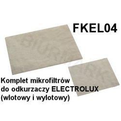 Komplet mikrofiltrów FKEL04 do odkurzaczy odkurzacza ELECTROLUX